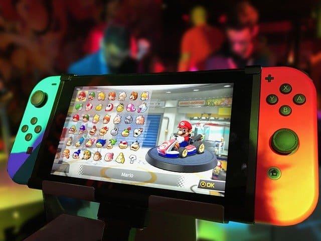 Nintendo switch SD card slot